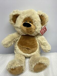 """Gund Brown 12"""" Razzle Bear Two Toned Brown Teddy NWT"""
