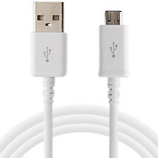 SAMSUNG GALAXY S3 S4 S5 TAB 3 10.1 7.1 8.0 USB DATA SYNC CHARGER CABLE WHITE