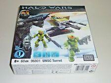 halo wars mega bloks set 1 unsc turret 96801 new sealed