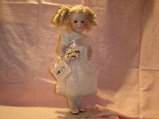 "Wendy Lawton 14""  All Full Porcelain Marigold Garden  1992  MIB Perfect"