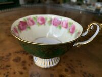 Royal Albert Bone China Old Country Roses Gold& Deep Green Exterior Only Teacup