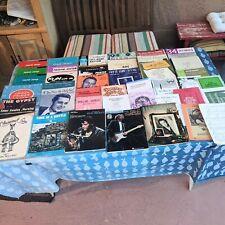 Lot Elvis Eric Clapton Don McLean 44 Song Books & Sheet Music Organ Piano Guitar