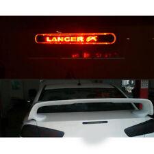 3D Carbon Fiber Rear Brake Lamp Light Sticker For Mitsubishi Lancer Ex 9 10