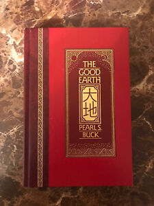 THE GOOD EARTH by Pearl S. Buck  LIKE NEW - (Hardcover)