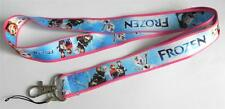MOBILE PHONE/IDENTITY CARD LANYARD NECK STRAP FROZEN PINK & BLUE