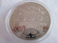 Médaille commémorative Essai 2006 L'Europe des XXV 40 mm FDC
