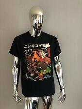 New Gildan Art Black Graphic T-Shirt Size L