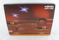 8191 Expansion Set E Märklin Track Set Mini Club Z Gauge + Top+