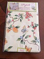 Tablecloth Benson Mills Papillon Spillproof Indoor/Outdoor Oblong 52'' X 70''