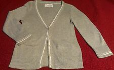 Nice AEROPOSTALE Gray Cardigan Sweater, LARGE. CHECK IT OUT! EUC!