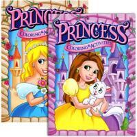 JUMBO PRINCESS Coloring & Activity Book | 2-Titles