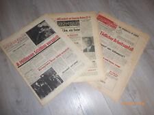 Badener Rundschau kpl. Jahrgang 1968 - Zeitung