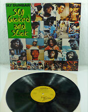 "SLY DUNBAR ""Sly Wicked and Slick"" UK 1979 M-/EX Reggae LP Front Line 70s"