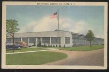 1940s POSTCARD CLYDE NY/NEW YORK THE GENERAL ELECTRIC COMPANY