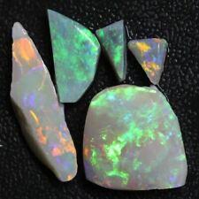 25.15 cts Australian, Solid Semi Black Opal Rough, Lightning Ridge Parcel Rubs