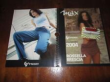 CALENDARIO 2004 DEL MENSILE MAX CON ROSSELLA BRESCIA FOTOGRAFATA DA F.FERRI