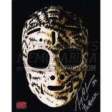 Gerry Cheevers Boston Bruins Signed Autographed Mask 16x20 Inscribed The Mask