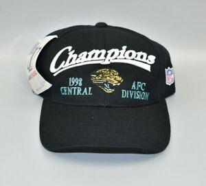 Jacksonville Jaguars Logo Athletic 1998 NFL AFC Central Champions Snapback Hat