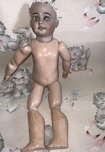 corps de poupee ancienne Restes Tête Porcelaine Jumeau  Éden Bebe