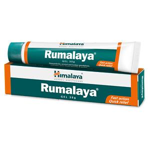 Himalaya Rumalaya Gel Pain Relief Joint Bones Muscle Back Knee Neck Shoulder-30g