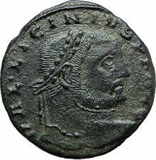 LICINIUS I Constantine I enemy 309AD Ancient Roman Coin NUDE Genius i75840