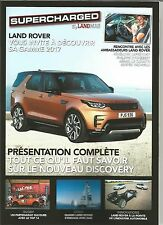 RARE MAGAZINE SUPERCHARGED LAND ROVER RANGE ROVER DISCOVERY