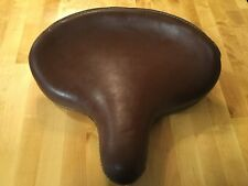 Harley Davidson knucklehead brown leather solo seat