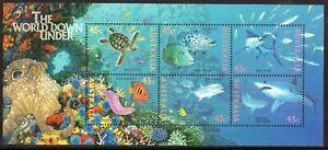 1995 Australia World Down Under Mini Sheet Mint Never Hinged, Clean