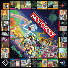 MONOPOLY Rick and Morty Edition Edition.