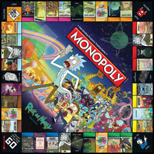 Rick and Morty Edition Monopoly (Sealed Brand New) Very Rare / Adult Swim