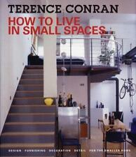 How to Live in Small Spaces: Design, Furnishing, Decoration and Detail-ExLibrary