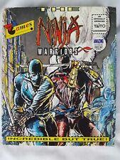 Ninja Warriors Taito Virgin Commodore Amiga Game 1989