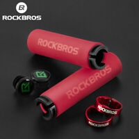 ROCKBROS Bicycle Handlebar Grips MTB Handlebar Bicycle Grips Road Bike Silicone