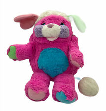 "Vintage 1986 Popples Prize Popple Pink Purple Blue Mattel Plush 13"""