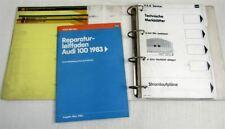 Audi 100 200 Typ 44 C3 1983 Reparaturleitfaden Filme + Technische Merkblätter