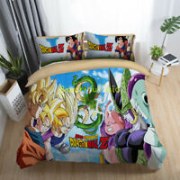 Dragonball Single/Double/Queen/King Bed Quilt/Doona/Duvet Cover Set Pillowcase