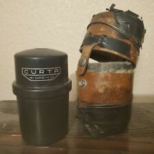 RARE LATE CURTA Calculator TYPE II #535597-  Good Cond -  With worn leather case