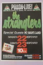 STRANGLERS ROCK BAND BIG POSTER LIVE at RODON ATHENS GREECE FEBR. 1991