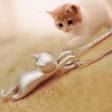 Pendentif Petit Chat Animal Forme Modèles Collier Femme Pendentif AdorableMignon