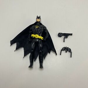 Vintage 1989 ToyBiz Batman Action Figure DC Super Heroes w/ Accessories Complete
