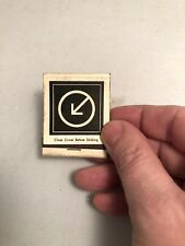 Vintage gay bar night August Club  Toronto matchbook matches gay interest