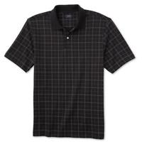 Arrow Men's Dover Windowpane Short Sleeve Work Polo Golf Shirt Choose Size/Color