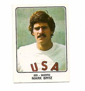 PANINI CAMPIONI DELLO SPORT 1973/74 225 MARK SPITZ SWIMMING!!!!!!!!!!!!!!!!!!!!!