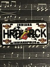 Hard Rock Cafe - Indianapolis (closed) License Plate