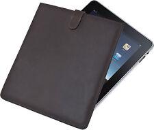 iPad Leder-Cover Schutz-Hülle Braun Sleeve Computer Tasche Scippis NEU