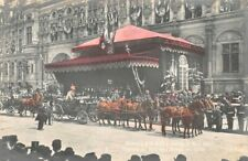 Edward VII À Paris - May 1903 - Departure of / the King L'Hotel City