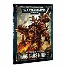 Warhammer 40K Chaos Space Marines Codex Hardcover 8th Edition NEW