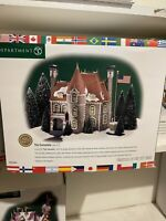Dept 56 Christmas in the City Heritage Village The Consulate #58951 *New In Box