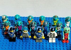 LEGO® LoM Minifigure Lot Life on Mars COMPLETE Collection Martian Cassiopeia Mac
