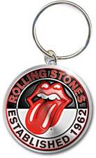 Brand New Rolling Stones Established 1962 Metal Keychain Key Chain